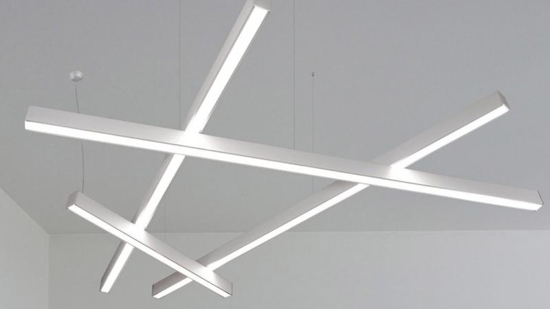 Светодиодные светильники из профилей